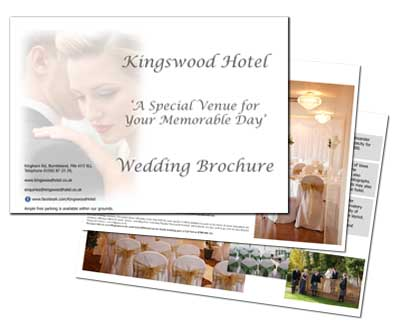 Download The Kingswood Hotel Wedding Brochure