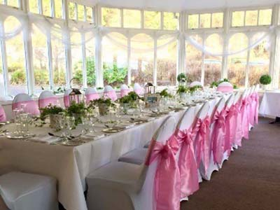 Conservatory at The Kingswood Hotel Wedding Venue in Burntisland Fife