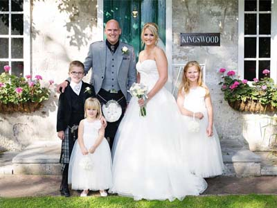 KIngswood Gardens Wedding Venue KIngswood Hotel Burntisland Fife