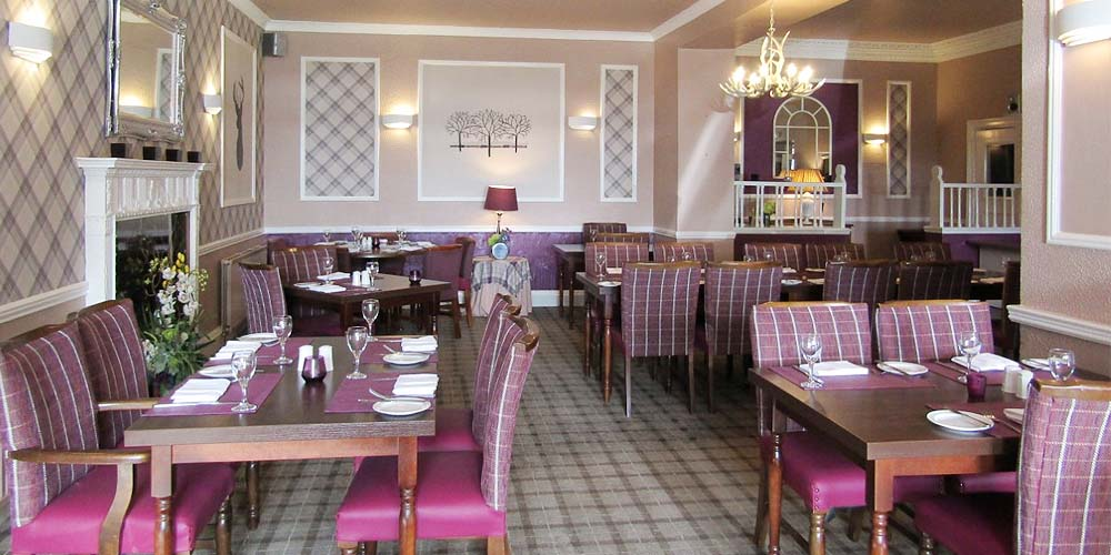The Tall Trees Restaurant at The Kingswood Hotel Burntisland Fife