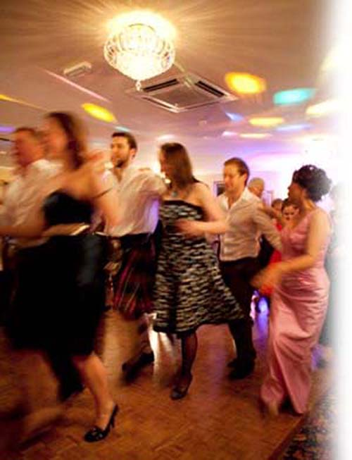 Hogmanay at THe Kingswood Hotel Burntisland Fife East Scotland