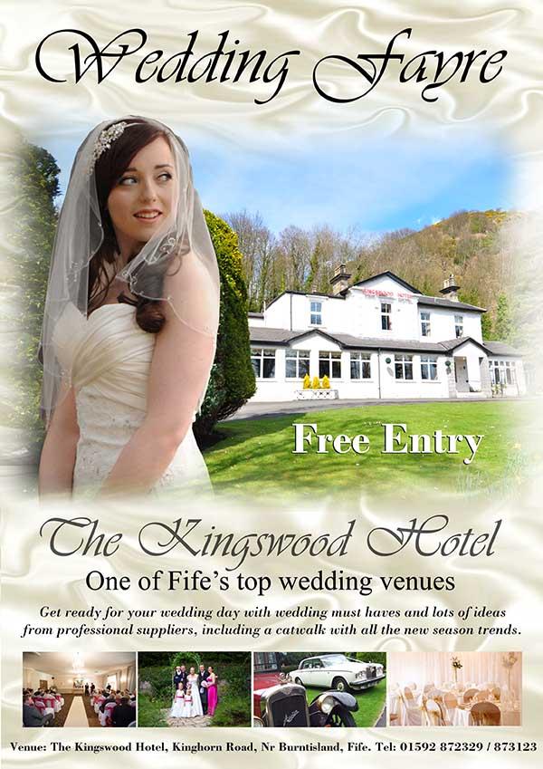Kingswood_Wedding_Fayres at The Kingswood Hotel Burntisland Fife East Scotland