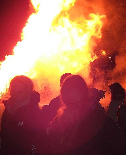 bonfire night the links burntisland