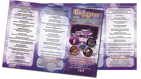 Download the Kingswood Hotel Christmas Brochure