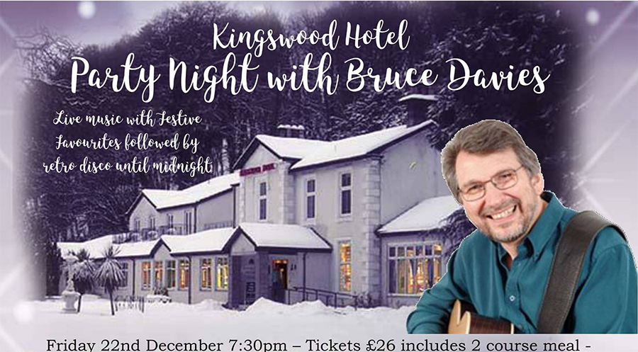 Party Night at The Kingswood Hotel with Bruce Davies