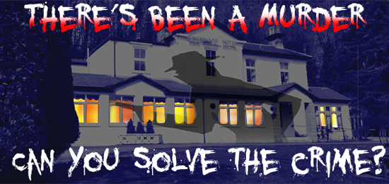Christmas Murder Mystery Nights at The Kingswood Hotel Fife East Scotland