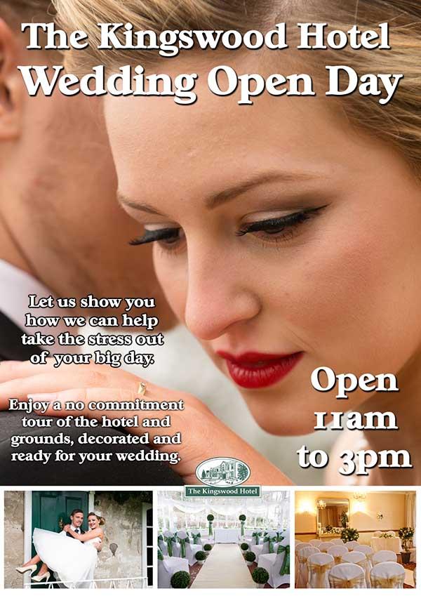 Wedding open days at The Kingswood Hotel Burntisland Fife Scotland
