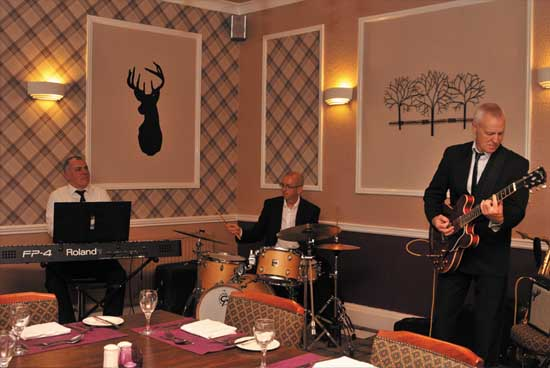 TdG Jazz at Christmas The Kingswood Hotel Burntisland Fife Scotland