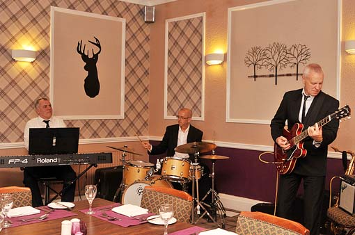 TDG Jazz at the Kingswood Hotel Burntisland Fife