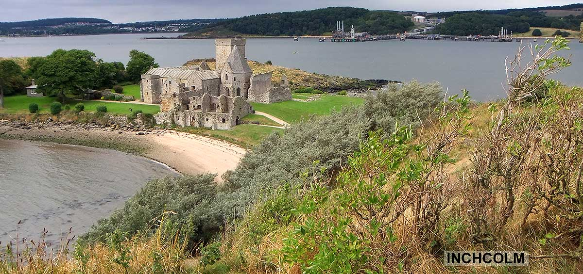 Inchcolm Island Fife Scotland