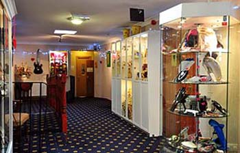 Gift shop at The Kingswood Hotel Burntisland Fife Scotland