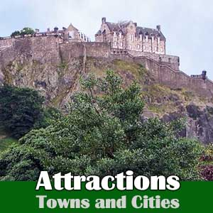 Attractions - Towns and Cities in and near Fife