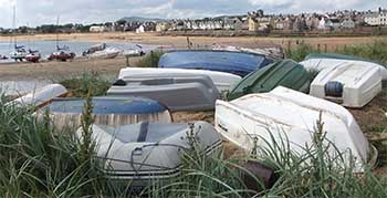 Elie in the East Neuk of Fife East Scotland