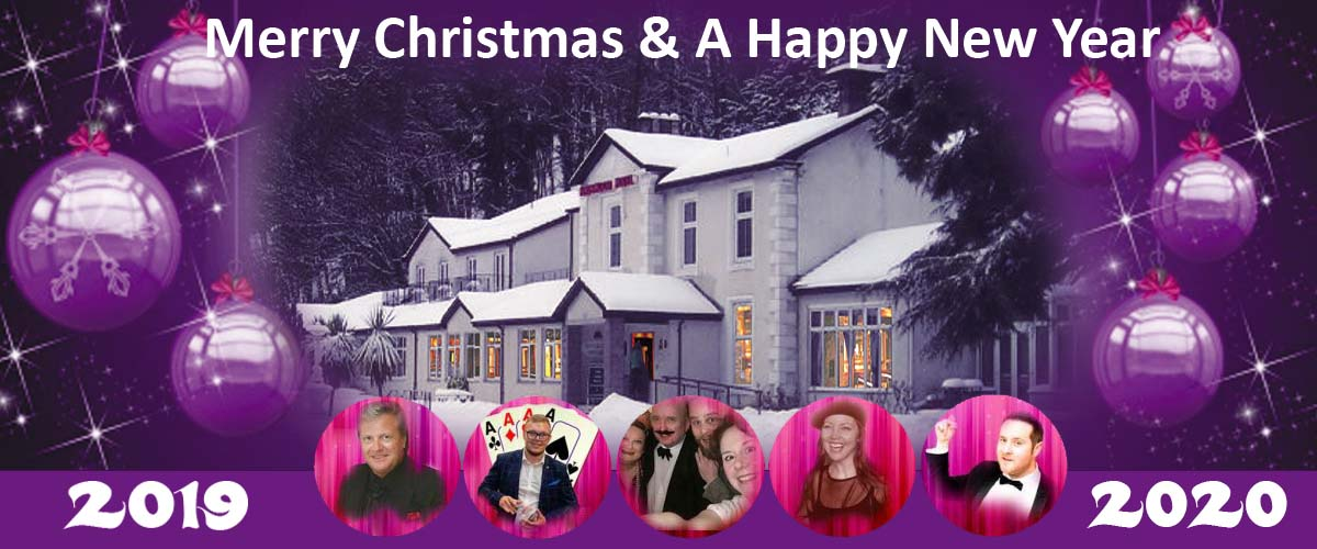 Christmas Events in Fife at The Kingswood Hotel Burntisland.