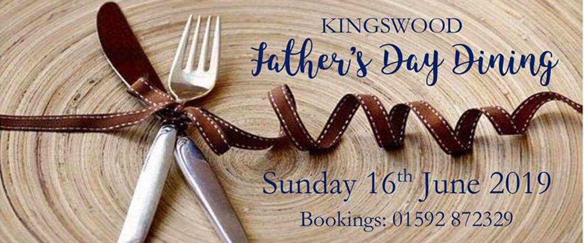 Fathers Day at The Kingswood Hotel Burntisland Fife