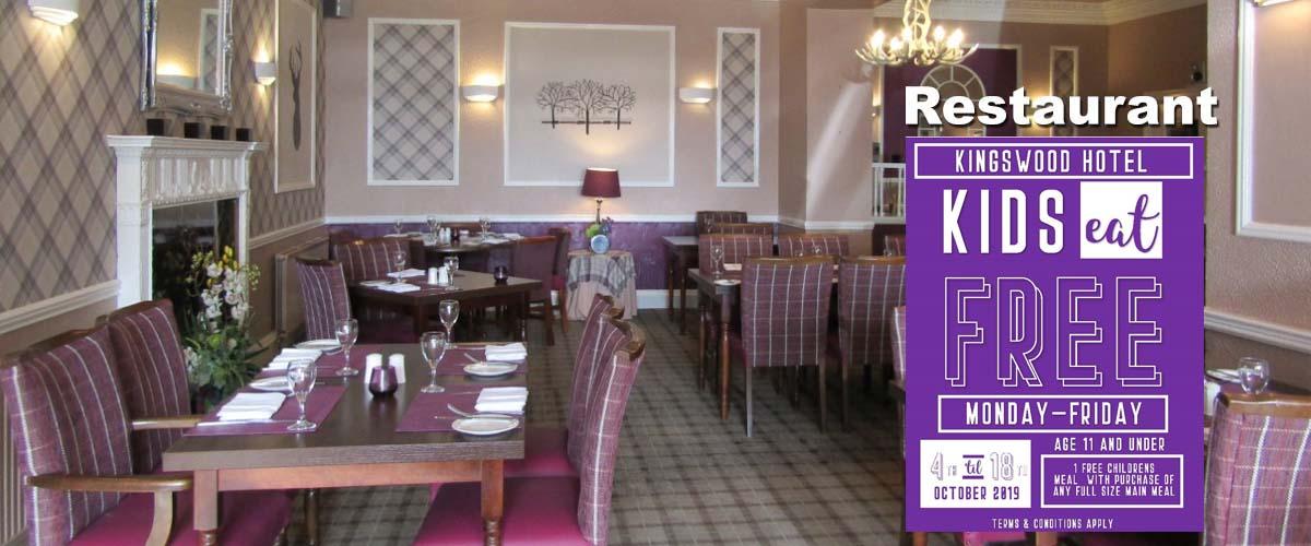 Tall Trees Restaurant at The Kingswood Hotel Burntisland Fife