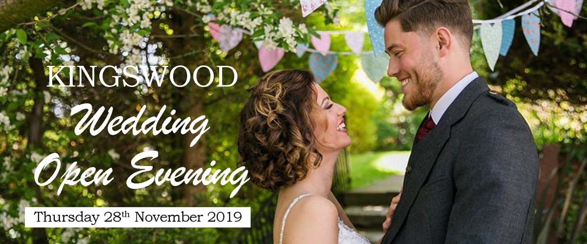 Wedding Open Evening at The Kigswood Hotel Burntisland Fife