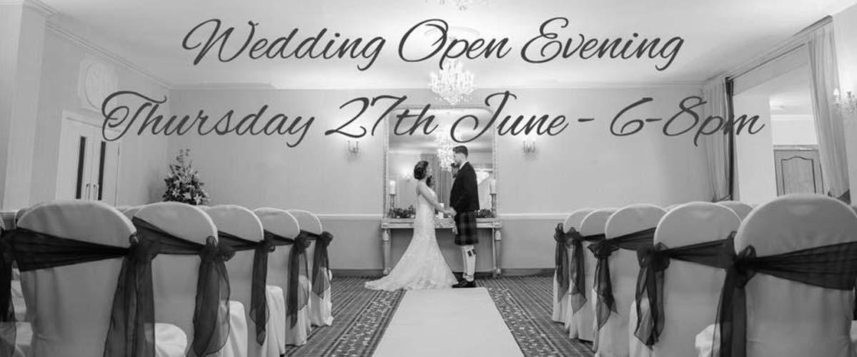 Wedding Open Evening at The Kingswood Hotel Burntisland Fife
