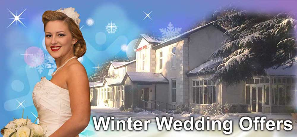 Winter Wedding Offers at The Kingswood Hotel Wedding Venue in Burntisland Fife Scotland