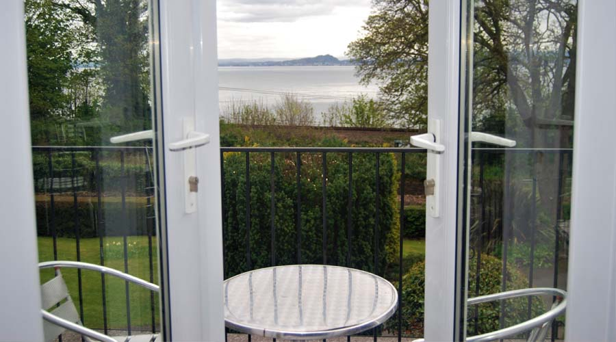 View across The Firth of Forth from The Kingswood Hotel