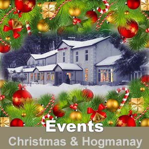 Christmas celebrations at The Kingswood Hotel Burntisland Fife Scotland