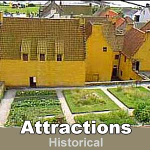 Attractions - Historical sites in Fife