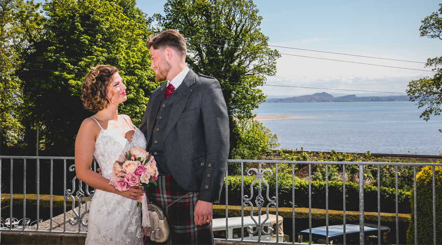 The Kingswood Hotel Wedding Venue in Burntisland Fife Scotland