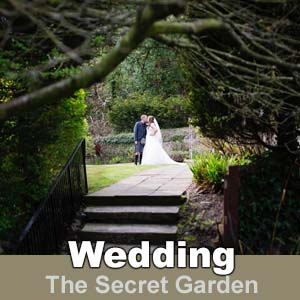 Weddings at The Kingswood Hotel Secret Garden