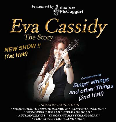 Elsa Jean McTaggart back at THe Kingswood Hotel with her Eva Cassidy show