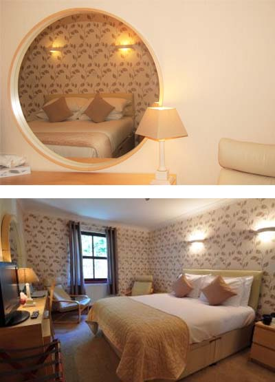 Kingswood Hotel Double Room Accommodation in Fife Scotland