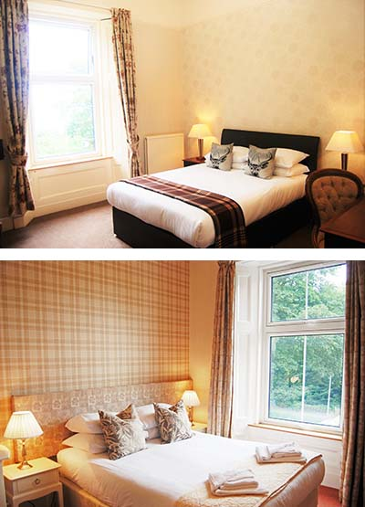 Kingswood Hotel Accommodation in Fife Scotland Family / Guest Room