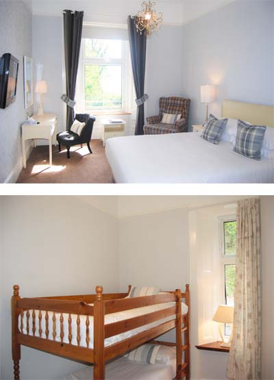 Kingswood Hotel Accommodation Fife Scotland Family Room