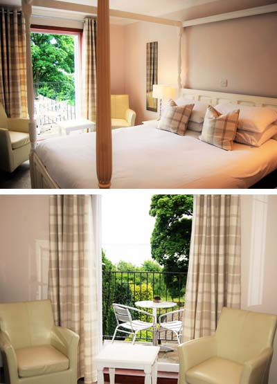Kingswood Hotel Accommodation Double Room with Sea View and Balcony in Fife Scotland