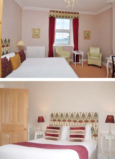 Kingswood Hotel Sea View Double Room Accommodation Fife Scotland