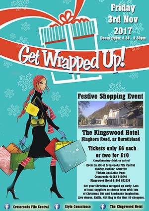Christmas Shopping Event at The Kingswood Hotel Burntisland Fife