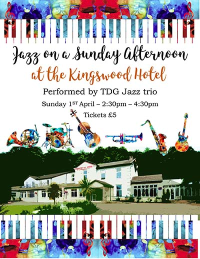 TdG Jazz at The Kingswood Hotel BUrntisland Fife 1st April 2018