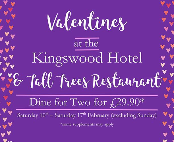 Kingswood Hotel Burntisland Menu