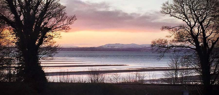 View from The Tall Trees Restaurant near Burntisland in Fife