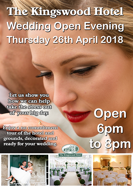 Wedding Open Evening at The Kingswood Hotel, Burntisland, Fife, Scotland