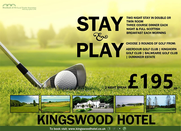 Golf Tour Fife: The Kingswood Hotel Fife Golf Tours
