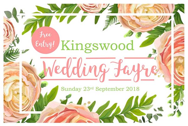 WEdding Fayre at The Kingswood Hotel Burntisland Fife