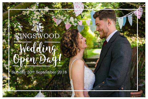 Wedding Open Days at The Kingswood Hotel Burntisland Fife