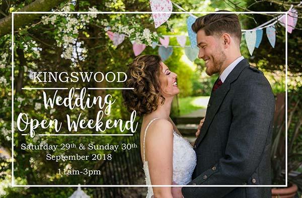 Wedding Open Weekend at The Kingswood Hotel Wedding Venue Burntisland Fife