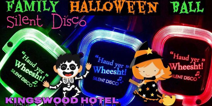 Family Halloween Disco at The Kingswod Hotel Burntisland Fife