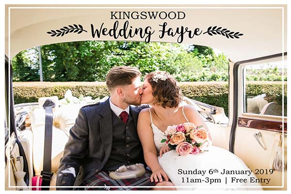 The Kingswood Hotel Fife Wedding Venue -Wedding Fayre Jan 2019