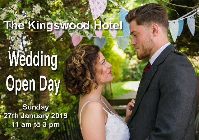 Kingswood Hotel Wedding Open Day Burntisland Fife