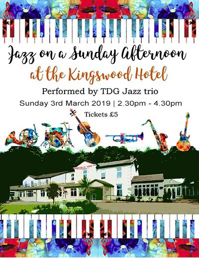 Sunday Jazz in Fife at The KIngswood Hotel Burntisland