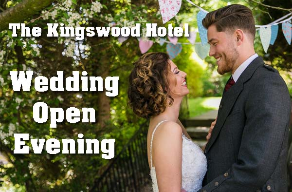 Weddin Open Evening at The Kingswood Hotel Burntisland Fife