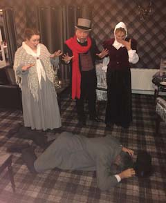 Murder Mystery Dining Experience at The Kingswood Hotel Burntisland Fife