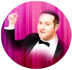 Michael Bublé tribute act for CHristmas at THe Kingswood Hotel Burntisland Fife